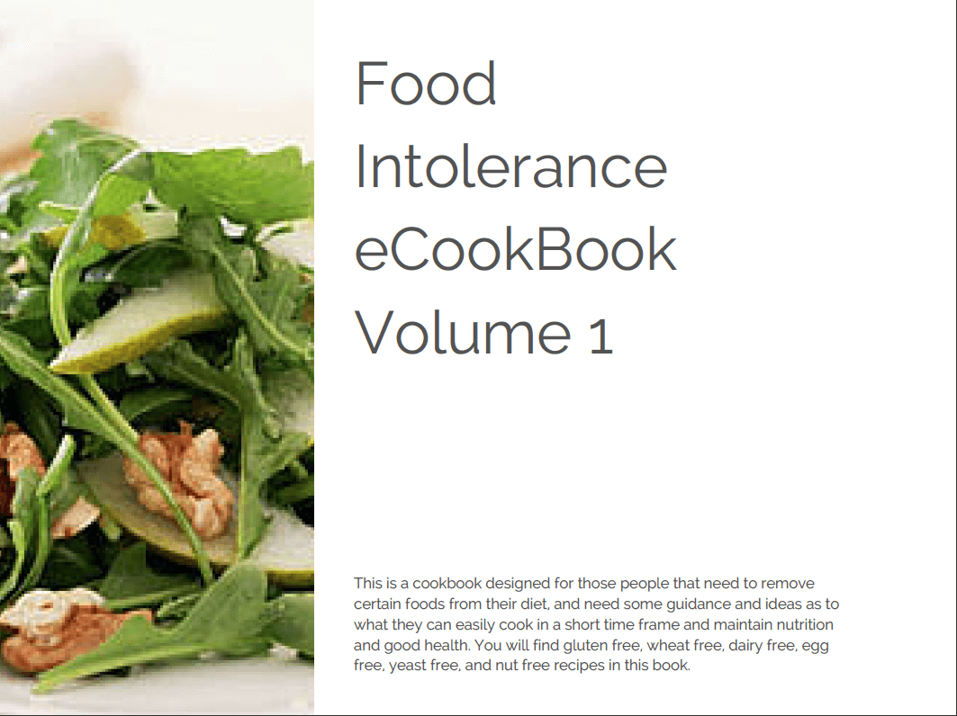 Sharon hespe cookbook recipes for food intolerances sharon hespe sharon hespe cookbook recipes for food intolerances forumfinder Gallery